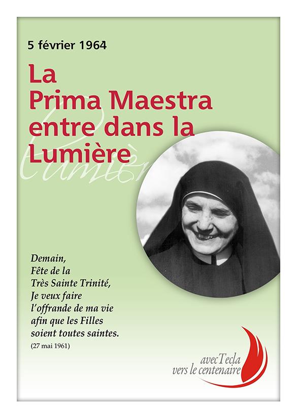 Demain, Fête de la Très Sainte Trinité, Je veux faire l'offrande...